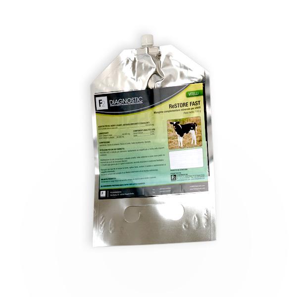 reidratante orale per vitelli monodose